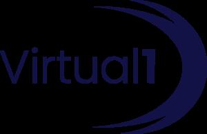 Virtual1_Logo_lockup_VADER BLUE